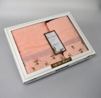 Набор из 2-х полотенец Sofi De Marko Melisa, абрикосовый