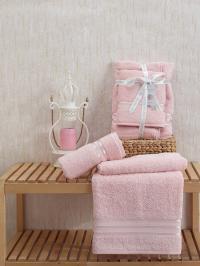 Набор из 2-х полотенец Sofi De Marko Nueva, розовый