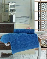 Полотенце Sofi De Marko Vega 70х140 см, синее