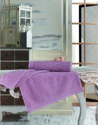 Полотенце Sofi De Marko Vega 70х140 см, грязно-розовое