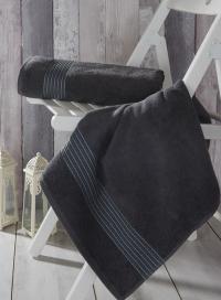 Полотенце Sofi De Marko Sokol 70х140 см, anthracite-серое