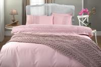 Gelin Home с пледом, Selin темно-розовый