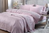 Gelin Home с покрывалом, Narin тёмно-розовый