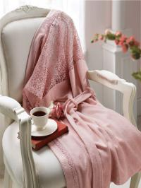 Халат Tivolyo Linda S-M, розовый