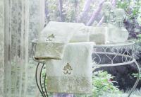 Набор из 3-х полотенец Tivolyo Vitaly, кремовый
