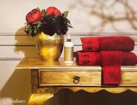 Набор из 3-х полотенец Tivolyo Bordeaux с диффузором, бордовый