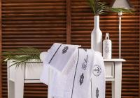 Набор из 2-х полотенец Tivolyo Ancora, белый