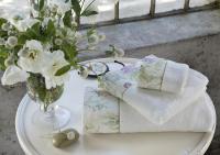 Набор из 2-х полотенец Tivolyo Nora, кремовый