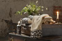 Набор из 3-х полотенец Tivolyo Leopard с диффузором, бежевый