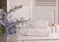 Набор из 2-х полотенец Tivolyo Iris, кремовый