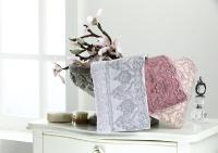 Набор из 3-х полотенец Tivolyo Lina, фиолетовый