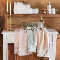 Полотенце Tivolyo Roseland Lux 50х100 см, розовое