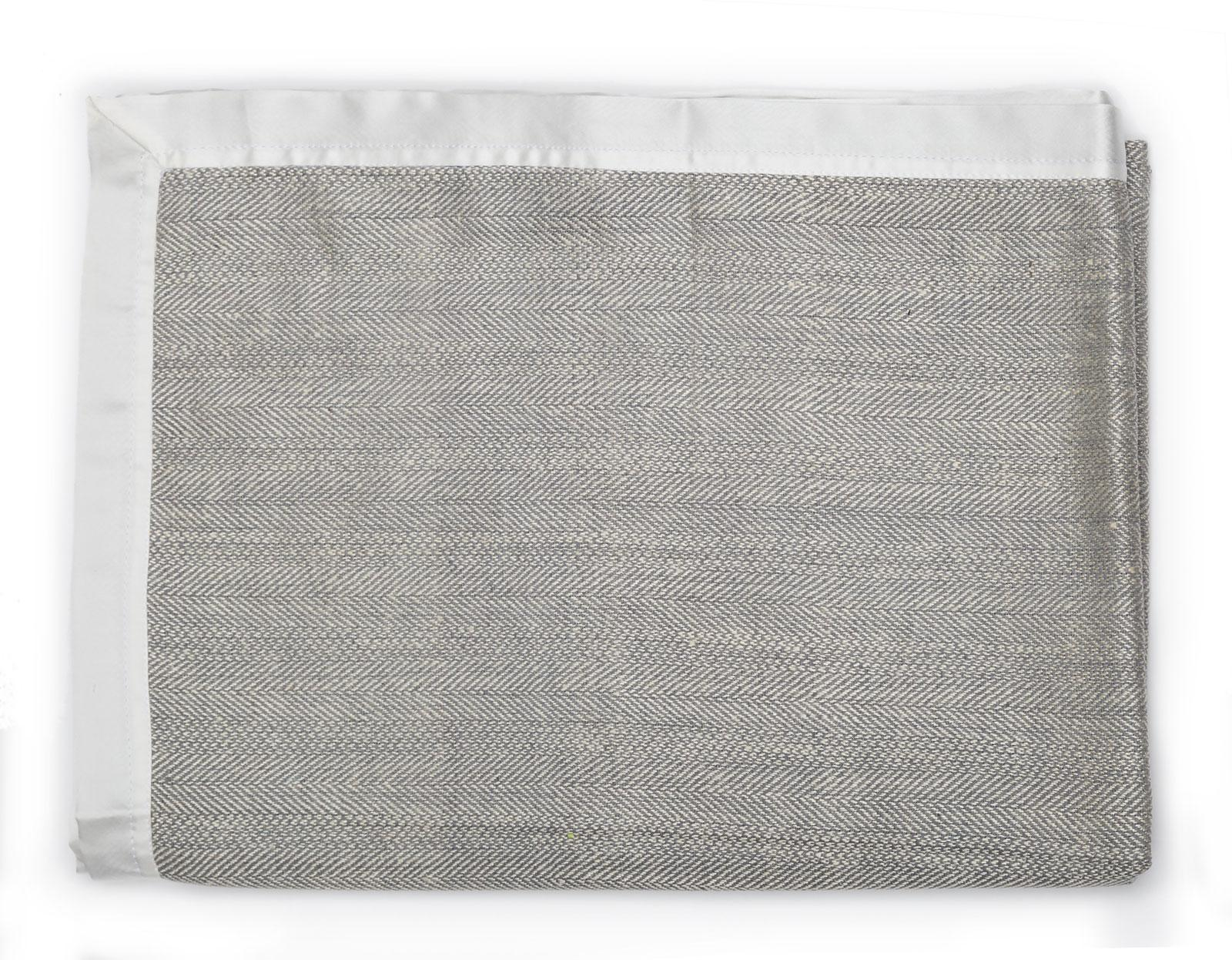 Плед Gingerlily Herringbone Throw, grey