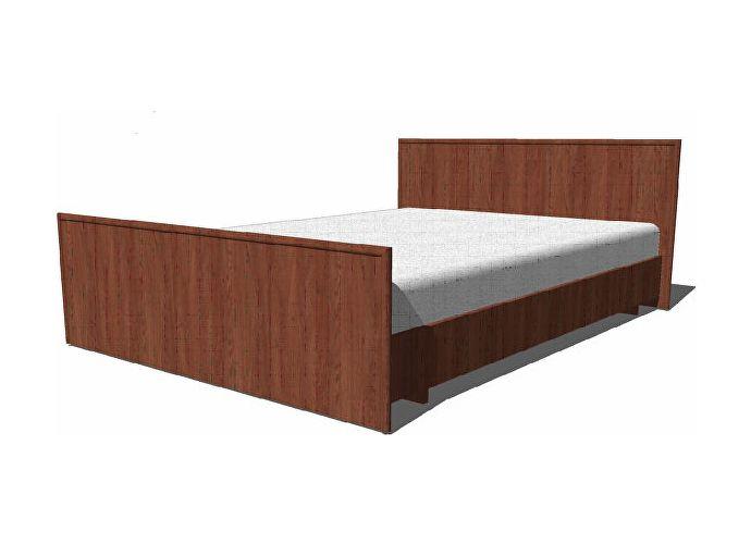 Кровать ГРОС Даша КРС-28 (140) без матраца