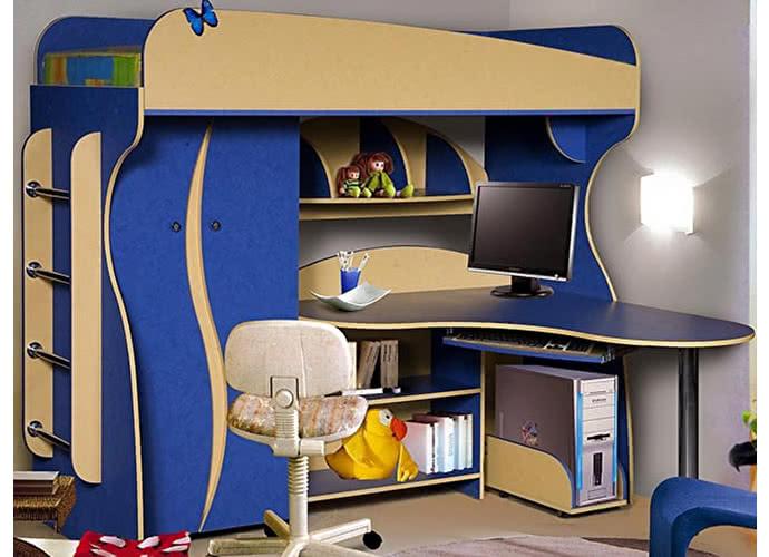 Набор мебели для жилой комнаты КМК Альфа-3 0241