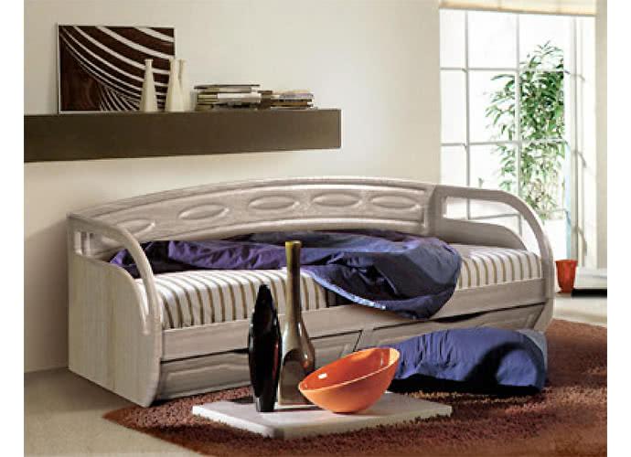 Кровать КМК Клеопатра с ящиками, 0320.11 (80)