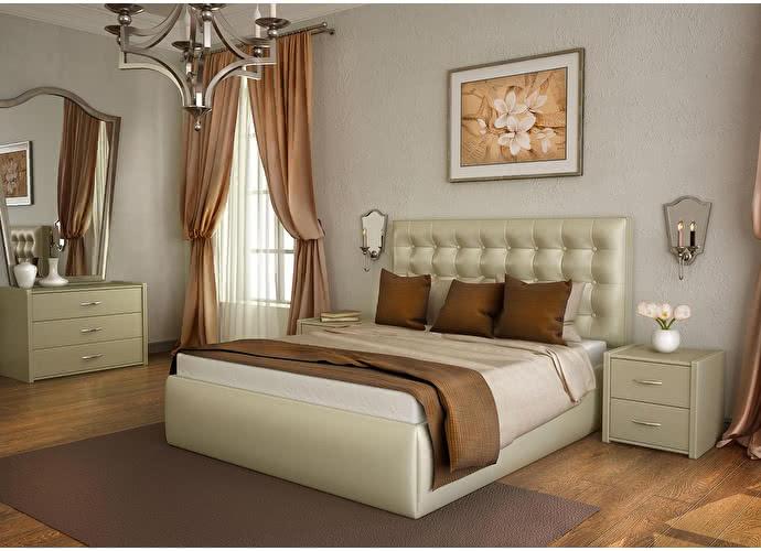 Кровать Lonax Аврора с подъемным механизмом