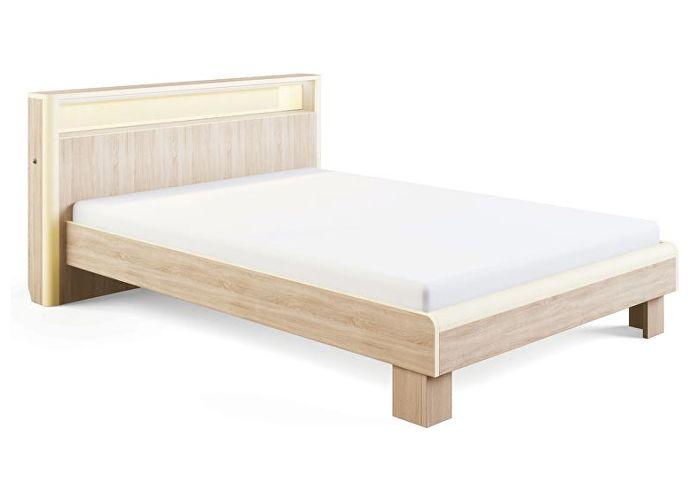 Кровать МСТ Оливия с подсветкой, мод. 3.3 (180)
