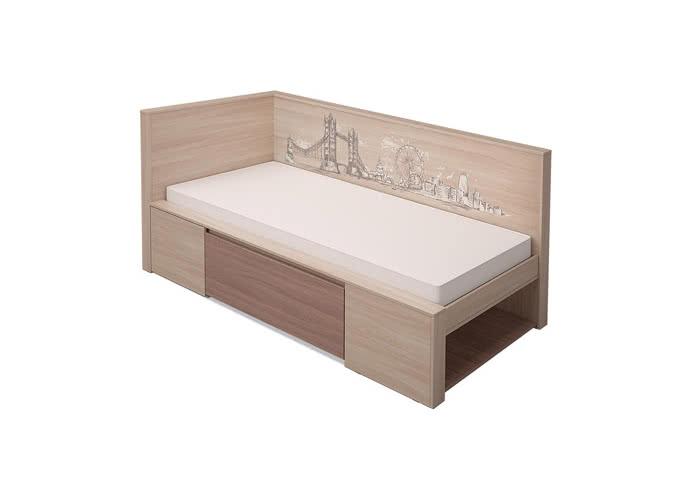 Кровать МСТ Город, mod1 (80)