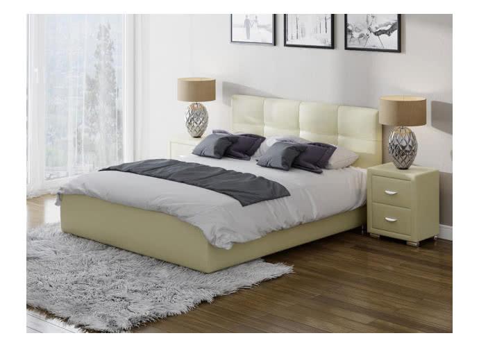 Кровать Life 1 Box с боковым подъемным механизмом (цвета люкс и ткань)