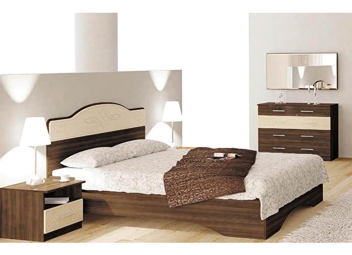 Кровать Заречье Виктория  ВК10 (160)