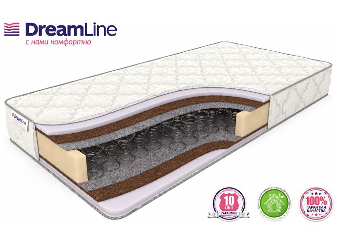 DreamLine Eco Foam Hard Bonnell