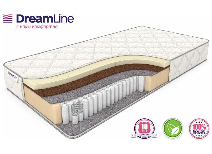 DreamLine Single SleepDream Medium S1000