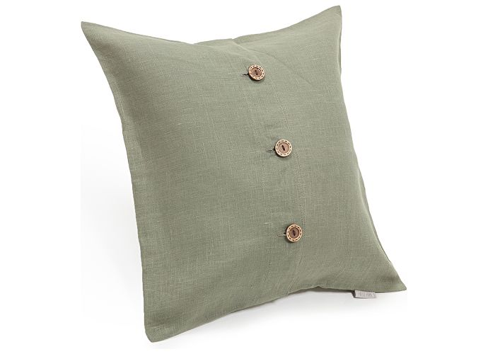 Декоративная подушка Helgi Home Бейсик, зеленый