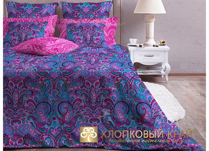Комплект Хлопковый край Олимпос, фуксия