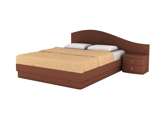 Кровать Торис ЮМА D4 (Бенар) правый