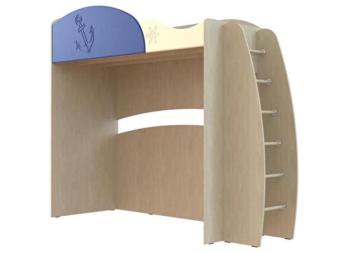 Кровать Компасс Капитошка ДК-12 с лестницей