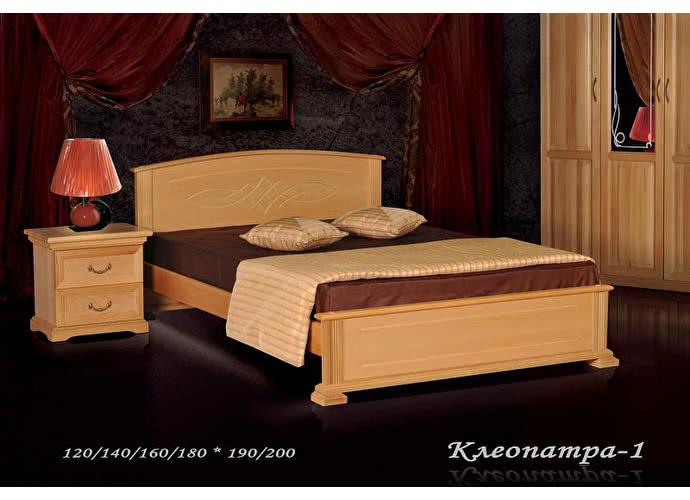 Кровать Фокин Клеопатра 1 Бук