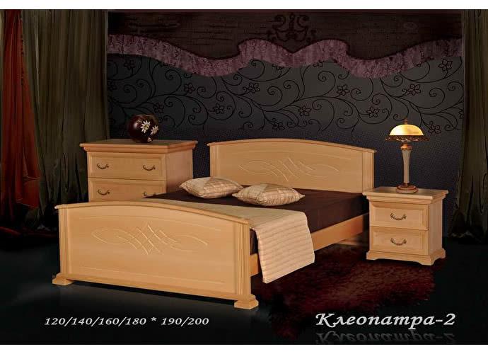 Кровать Фокин Клеопатра 2 Бук