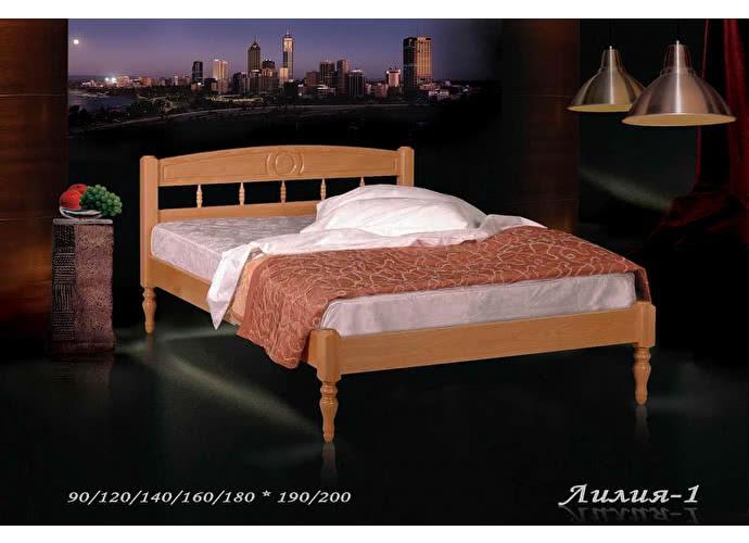 Кровать Фокин Лилия 1 Орех
