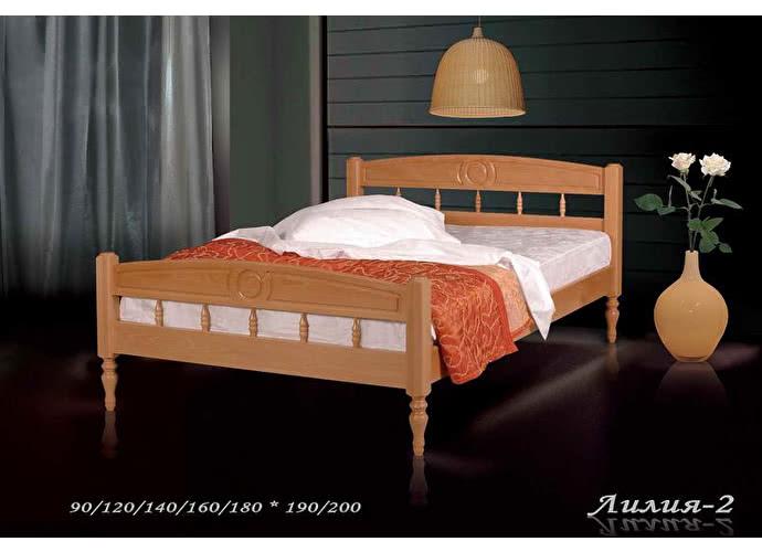 Кровать Фокин Лилия 2 Орех