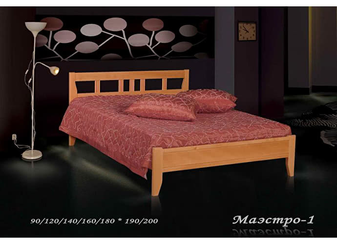 Кровать Фокин Маэстро 1 Ольха