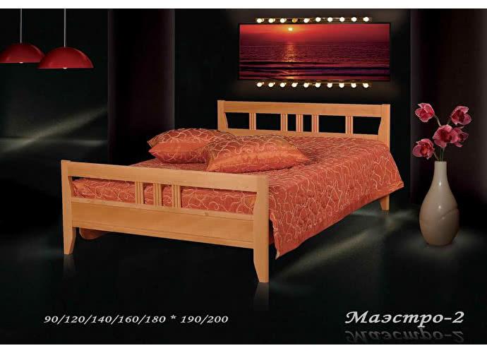 Кровать Фокин Маэстро 2 Ольха