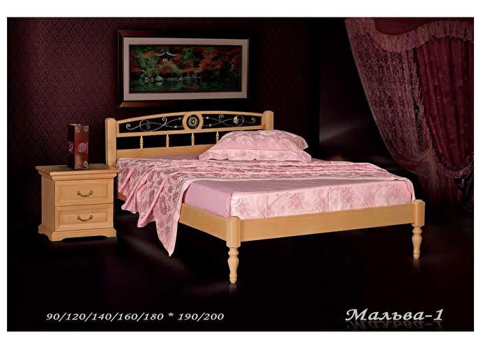 Кровать Фокин Мальва 1 Бук