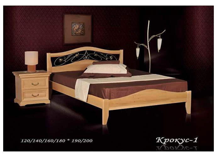 Кровать Фокин Крокус 1 Бук