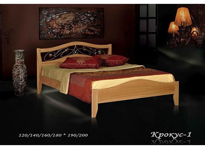 Кровать Фокин Крокус 1 Орех