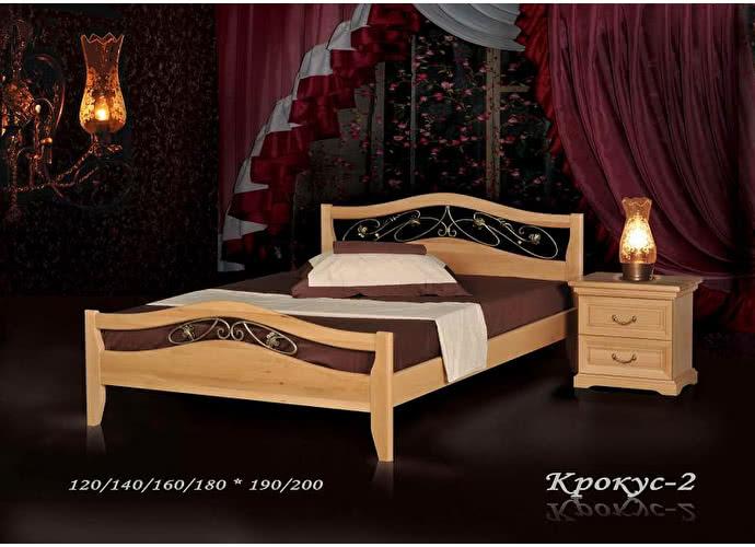 Кровать Фокин Крокус 2 Бук