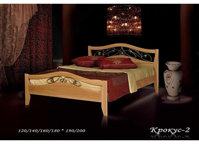 Кровать Фокин Крокус 2 Орех