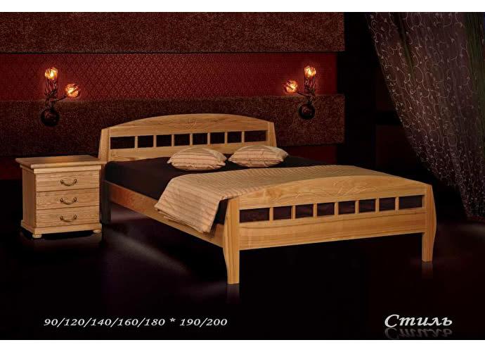 Кровать Фокин Стиль 2 Орех