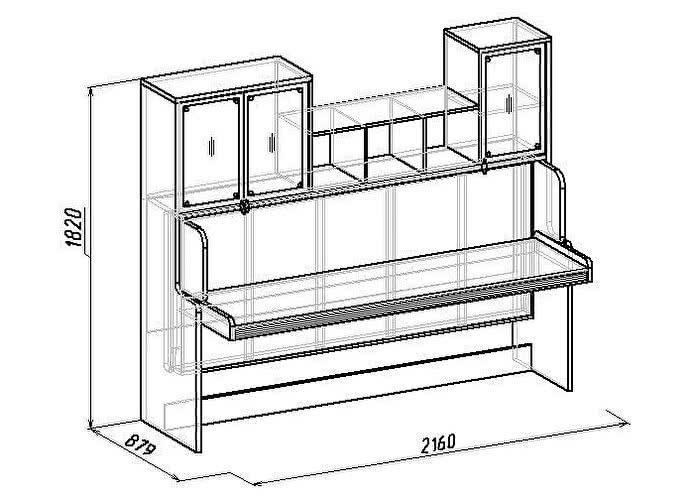 Кровать-трансформер Калейдоскоп 1 Глазов