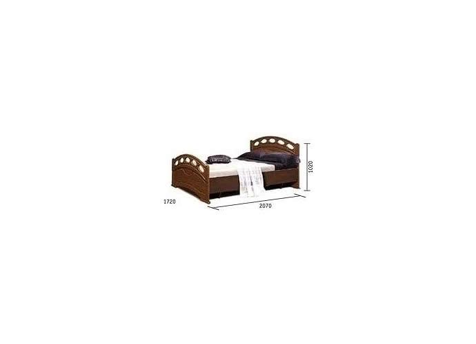 Кровать Клеопатра, 0320.14 (160)