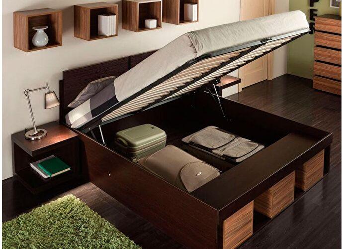 Кровать Глазов Hyper 2 (160) венге/палисандр