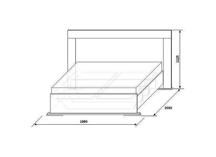 Кровать КМК Нимфа, 0383.2 (160)