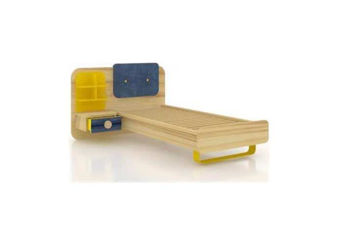 Кровать Любимый дом Джинс комбинированная, ЛД 507.100 (80)