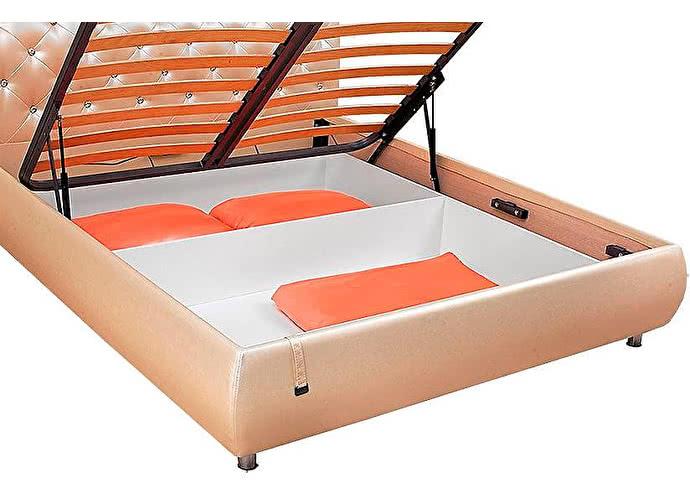 Купить Кровать Эмили пуговицы с подъемным механизмом (эгоист)