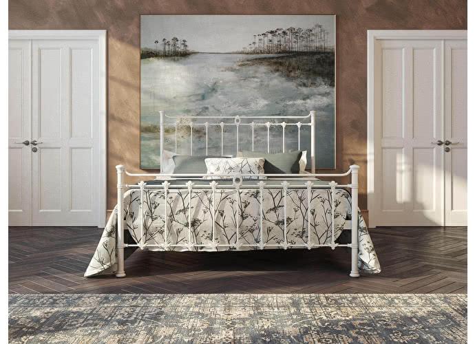Кровать Originals by Dreamline Guardian (1 спинка) Белый глянцевый